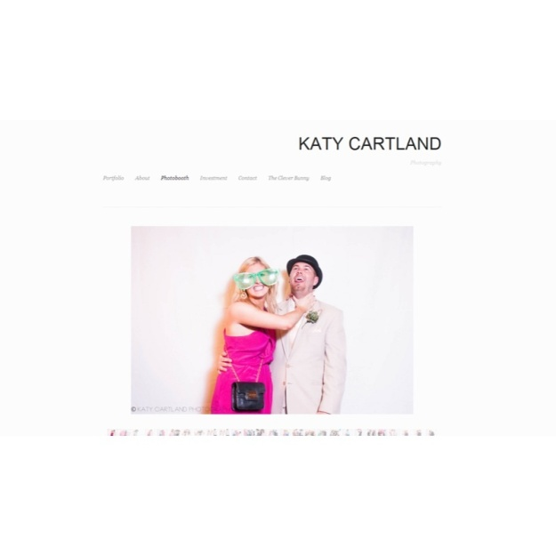 Katy Cartland Photography Photobooth Page