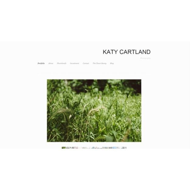 Katy Cartland Photography Homepage