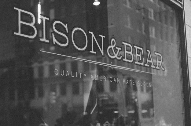 Bison&Bear Signage